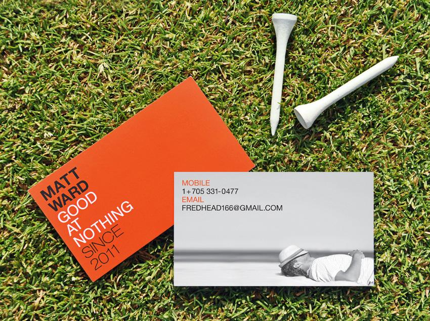 Matt Ward Business Card