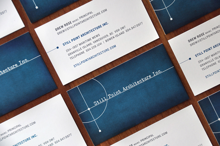 Still Point Architecture Business Cards