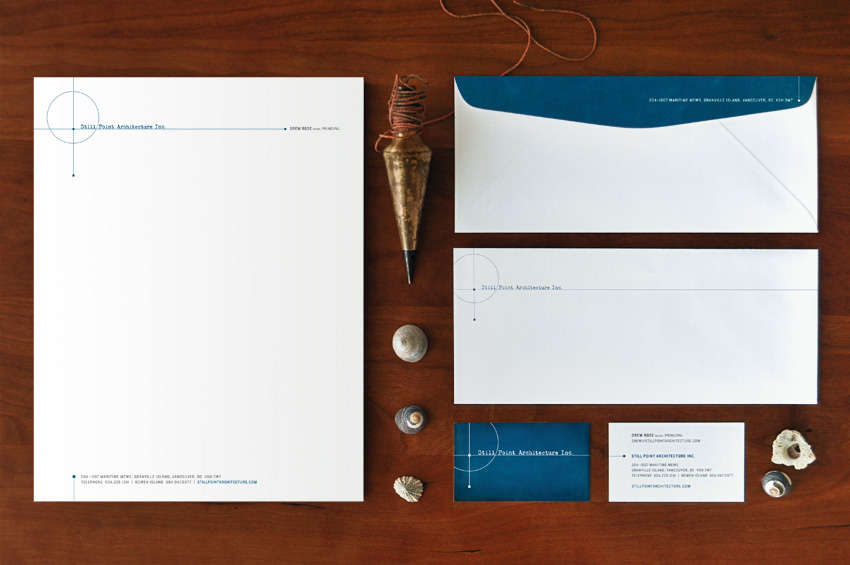 Still Point Architecture Stationery