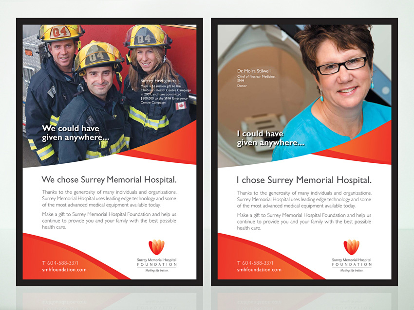 Surrey Memorial Hospital Foundation Posters