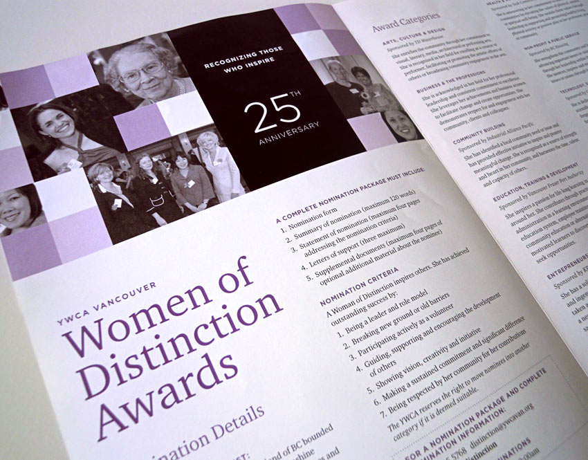 YWCA Metro Vancouver Women of Distinction Awards