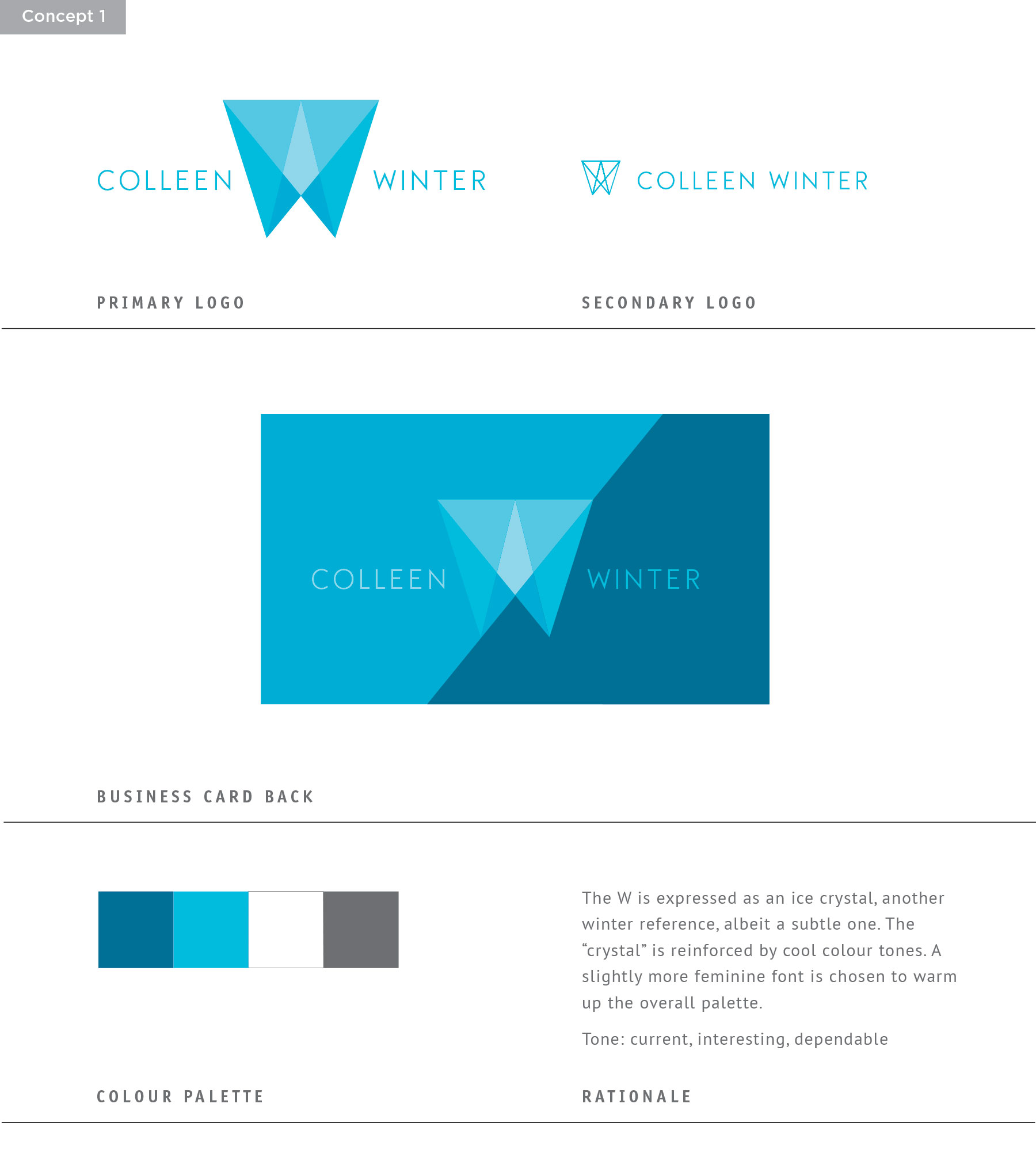 Sue Ward Design - Winter Branding