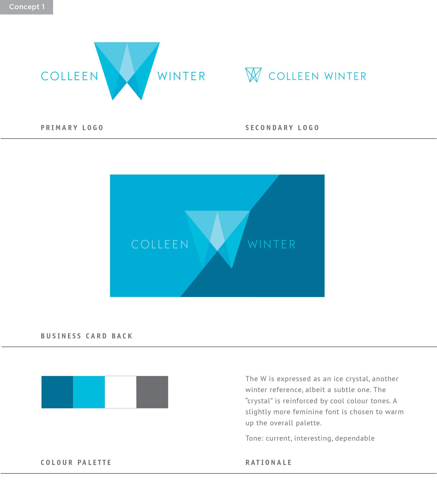 Sue Ward Design - Winter Branding